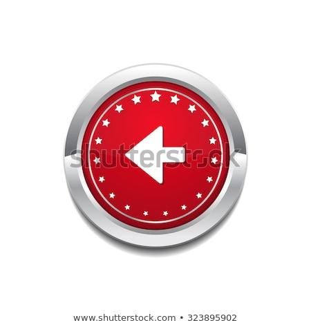 Kulcs körkörös vektor piros webes ikon gomb Stock fotó © rizwanali3d