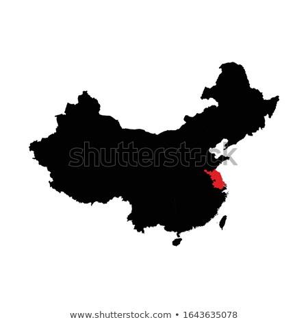 Map of People's Republic of China - Jiangsu province Stock photo © Istanbul2009