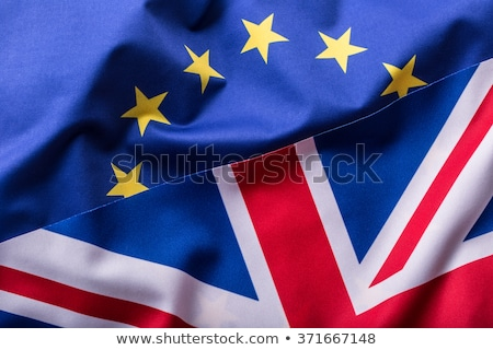 EU and UK flag Stock photo © m_pavlov