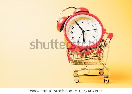 Foto stock: Tiempo · comprar · texto · reloj · financiar · mercado