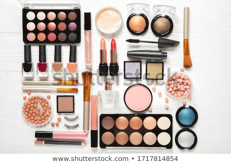 set of makeup cosmetics stock photo © bezikus