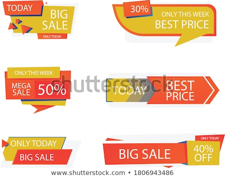 Midnight Offer Red Vector Icon Design Stock photo © rizwanali3d