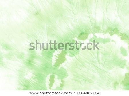 Zöld fehér nyakkendő divat háttér selyem Stock fotó © shutswis