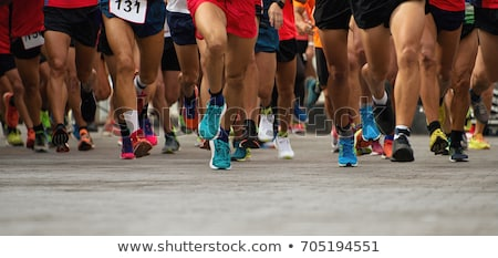 Maratón agua parada enorme Foto stock © p0temkin