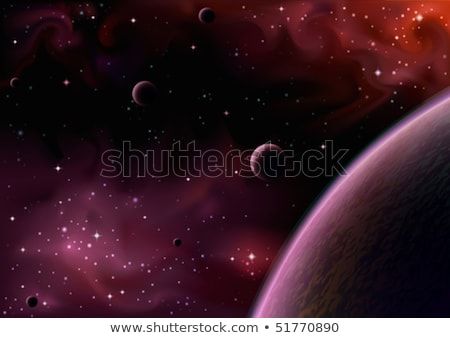 Moon. The realistic vector image. EPS 8 Stock photo © beholdereye