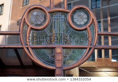 Detail of Art Nouveau building Stock photo © 5xinc