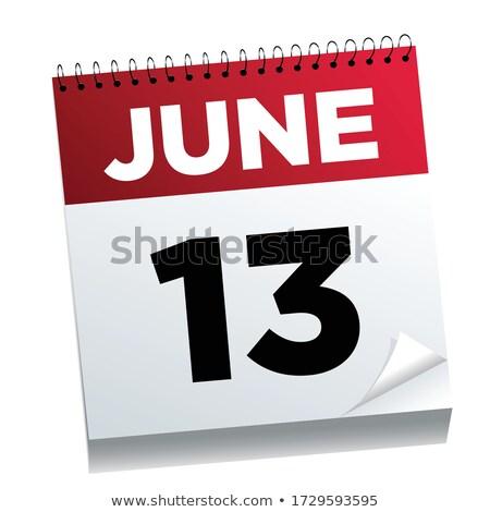 13th June Stock photo © Oakozhan