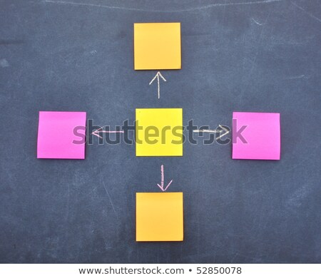 Cause Effect Arrows Concept On Sticky Note Stock photo © ivelin