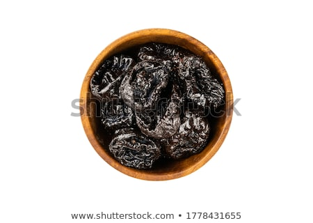 bowl of prunes stock photo © digifoodstock