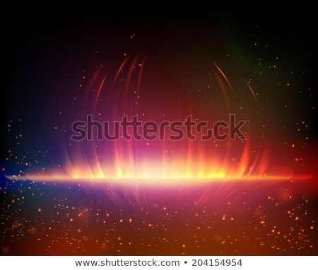 colorful music background with glitter and sparkles Stock photo © SArts