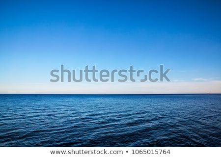 Beautiful daylight view to blue sea and sky Stock photo © frimufilms