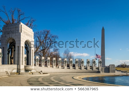 World War Two Lincoln Memorials Flag Mall DC Stock photo © Qingwa