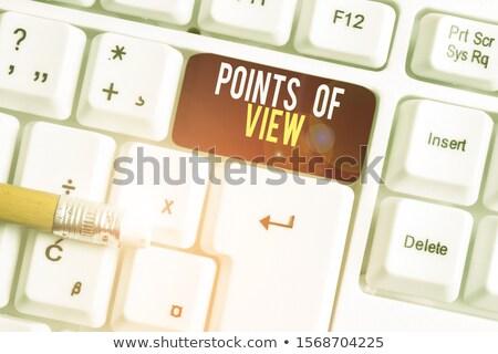 Foto stock: Escuta · diferente · forma · empresário · pensar