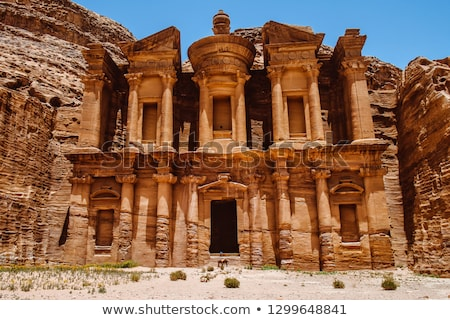 Petra monastery-Jordan Stock photo © FreeProd