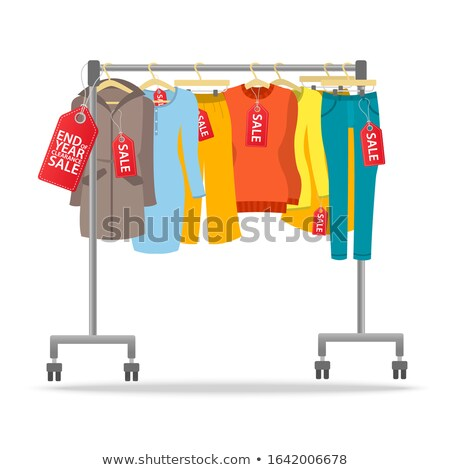 Coats for sale Stock photo © IS2