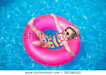 Zomervakantie meisje zomer Stockfoto © CsDeli