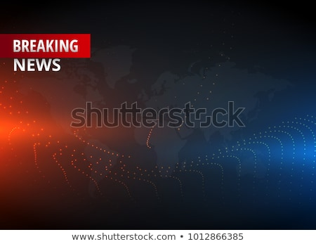 live news background concept design Stock photo © SArts