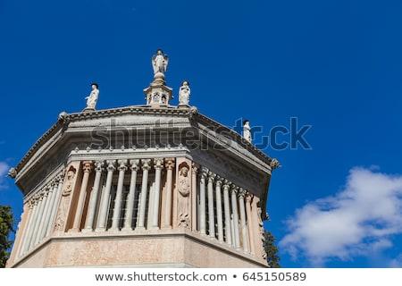 Detail from Battistero of Santa Maria Maggiore in Bergamo Stock photo © boggy