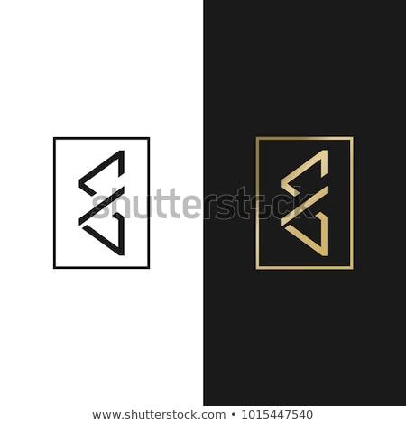 文字g ロゴ ベクトル 三角形 アイコン ストックフォト © blaskorizov