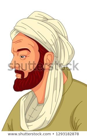 Musulmanes médico ilustración medicina maestro Islam Foto stock © artisticco