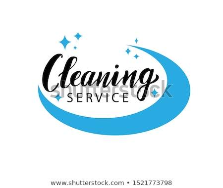 Foto d'archivio: Cleaning Service Company Vector Illustrations Set