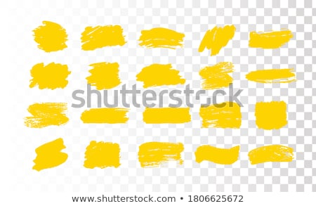 Watercolor Blot And Banner Abstract Transparent Background Stock photo © barbaliss