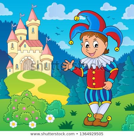 Happy jester theme image 3 Stock photo © clairev