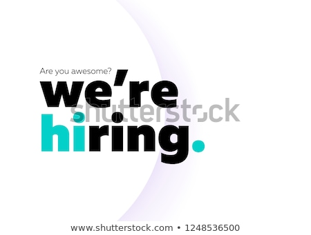Vector join our team concept creative business illustration with working people.  stock photo © Giraffarte