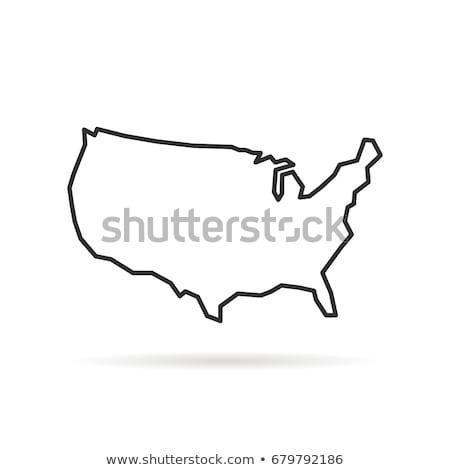 atlasz · vektor · vonal · művészet · stilizált · rajz - stock fotó © kyryloff