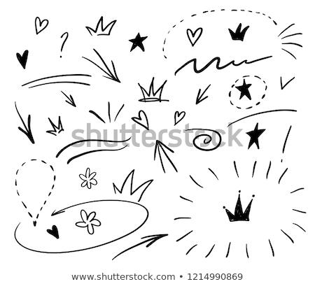 karalamalar · grafik · tasarım · örnek · yaratıcı · sanat · renkli - stok fotoğraf © balabolka