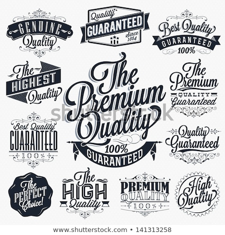 premium quality discounts and sale in shop set stock photo © robuart