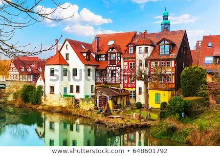 мнение Германия реке небе синий путешествия Сток-фото © borisb17