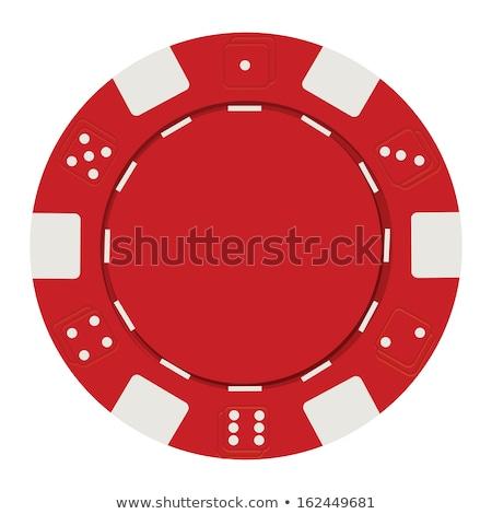 игорный объекты рулетка чипов игры вектора Сток-фото © robuart