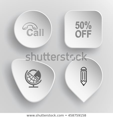 button on and off on white background. 3D illustration Stock photo © ISerg