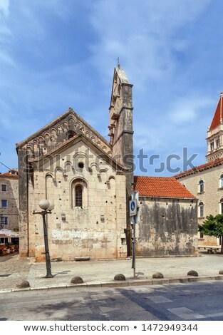 Igreja Croácia histórico centro edifício europa Foto stock © borisb17