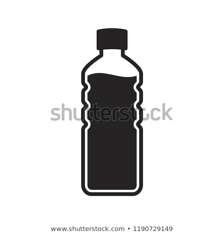 Alcohol Bottle Icon Vector Outline Illustration Stock photo © pikepicture