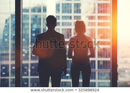 Business mislukking vooruitzicht Zoek economisch strategie Stockfoto © Lightsource