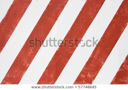 Vermelho branco textura do grunge aviso industrial Foto stock © evgeny89