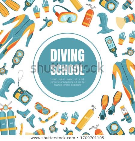 ダイビング 学校 スキューバダイビング スイミング 水 マスク ストックフォト © RAStudio