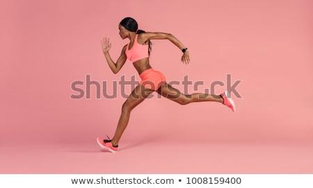 female fitness body Stock photo © stryjek