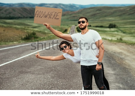 Hitch hiking Stock photo © curaphotography