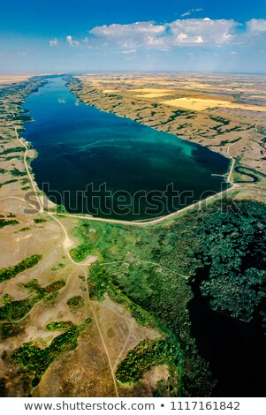 Stock photo: buffalo pound lake saskatchewan