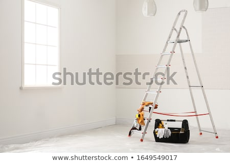 Decorator on a stepladder Stock photo © photography33