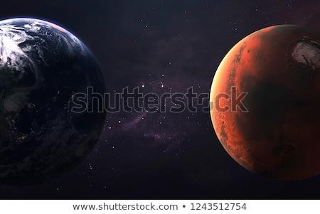 Soare abstract lume vopsea stele călători Imagine de stoc © mariephoto