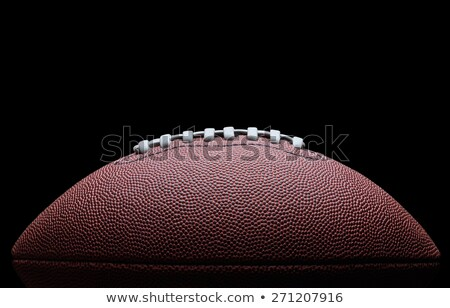 American football isolated over a white Stock photo © ozaiachin