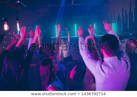 discoteca · homem · painel · sol · menino - foto stock © photography33