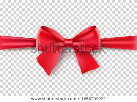 Ribbon red bow diploma vector stock photo © Zebra-Finch