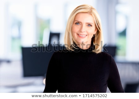 Mature female beauty. Stock photo © oscarcwilliams