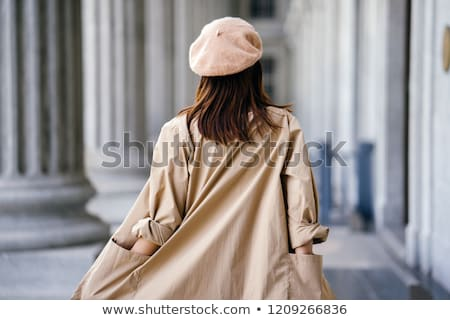 Female trench coat. Stock photo © oscarcwilliams