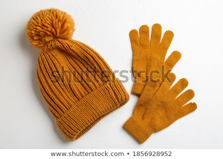 gloves and hat Stock photo © carlodapino